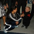 Michelle Rodriguez and Verne Troyer — Stock Photo