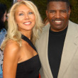 Dennis Green and wife Marie — Stok fotoğraf