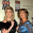 Nancy Davis and Lisa Rinna - ストック写真