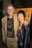 Barry Osbourne and Cheryl Kim — Stock Photo
