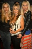 Cyia Batten, Carmen Electra and Kasey Campbell — Stock Photo