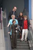 Michael J. Fox's family — Stock Photo