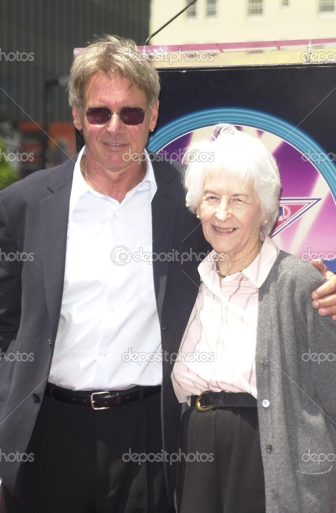 Harrison Ford and mom Dorothy – Stock Editorial Photo © s ...