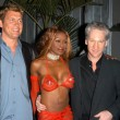 Chris Breed, Coco Johnson and Bill Maher — Zdjęcie stockowe