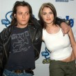 Edward Furlong and girlfriend Liz Levy - Stock Photo