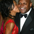 Charles S. Dutton and girlfriend Manita Brisker — Stock Photo