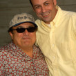 Danny DeVito and Todd Graff — ストック写真
