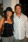 Christine Carlo and David Nesser — Stock Photo