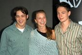 Mike Erwin, Emily VanCamp and Gregory Smith — Stock Photo