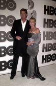 David hasselhoff i żona — Zdjęcie stockowe