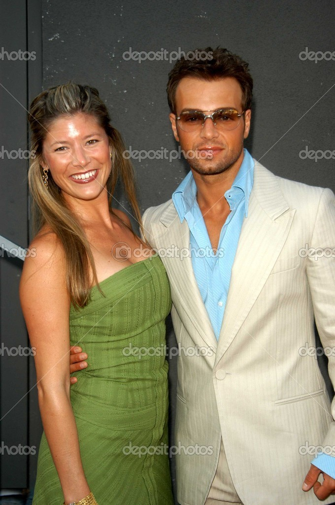 Joey Lawrence and his former wife Michelle Vella