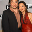 Ming-Na and husband Eric Michael Zee — Lizenzfreies Foto