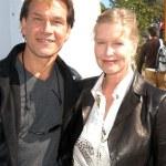 ������, ������: Patrick Swayze and wife Lisa Niemi