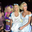 Erica Lookadoo, Tiffany Holiday, Paris Hilton and Patricia Brown — Stock Photo
