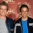 Josh Meyers and Seth Meyers — Stockfoto