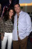 Brooke Burke and husband Garth Fisher — Stock Photo