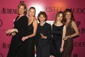 Allison Janney, Estella Warren, Evelyn Lauder, Thora Birch and Debra Messing — Stock Photo