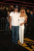 Kid rock e pamela anderson — Foto Stock