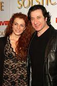 Frederico Castelluccio and Michelle — Stock Photo