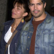 Esai Morales and date — Stock Photo