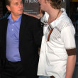 Michael Douglas and Cameron Douglas — Stock Photo