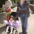 Lisa Rinna and daugthers Delilah and Emilia — Stockfoto