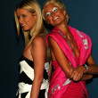 Nicky and Paris Hilton — Stock Photo