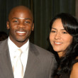 Derek Luke and wife Sophia — Stock Photo