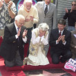 Betty Garrett's star is unveiled - Foto de Stock