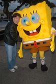 Mike Myers and Sponge Bob — Stock Photo