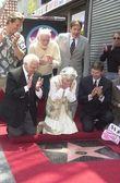 Betty Garrett's star is unveiled — Stockfoto