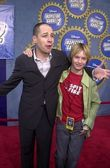 French Stewart and stepson Henry Hopper — Stock Photo
