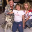 David Hasselhoff and family — Lizenzfreies Foto