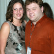 Frank Caliendo and fiance - Stockfoto
