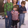 Marilu Henner and kids - Stockfoto