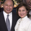 John Woo and wife - Stock Photo