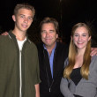 Beau Bridges and kids — Stock fotografie #17893579