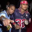 22 and Da Brat — Stock Photo