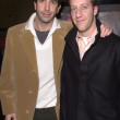 图库照片: David Schwimmer and Joey Slotnick