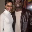Guy Torry and fiance Wendy — Stock Photo