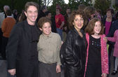 Martin Short, son Henry, Andrea Martin and niece — Stock Photo