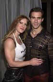 Joanie Laurer (formerly Chyna) and Adrian Paul — Stock Photo