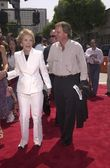 Nancy reagan e doug pavio — Foto Stock