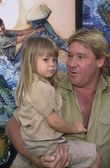 Steve Irwin and daughter Bindi — Stock Photo