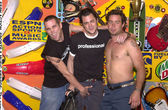 Johnny Knoxville and Jackass cast members — Stock Photo