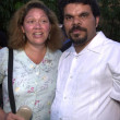 Luis Guzman and wife — Stock Photo