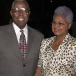 Hank Aaron and wife — Stockfoto #17908093