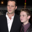 Vince Vaughn and co-star Matt O'Leary — Stock Photo
