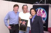 Chuck Norris, Rob Schneider and Michael Bolton — Stock Photo
