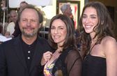 Billy Crystal, wife Janice, daughter Jennifer — Stock Photo